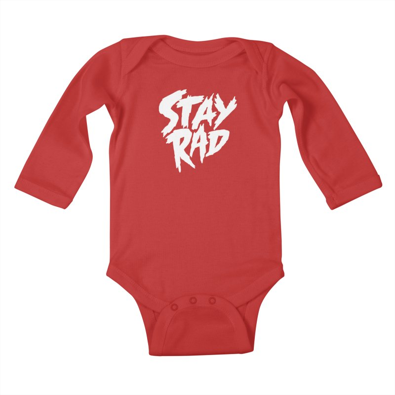 Stay Rad Kids Baby Longsleeve Bodysuit by Iheartjlp