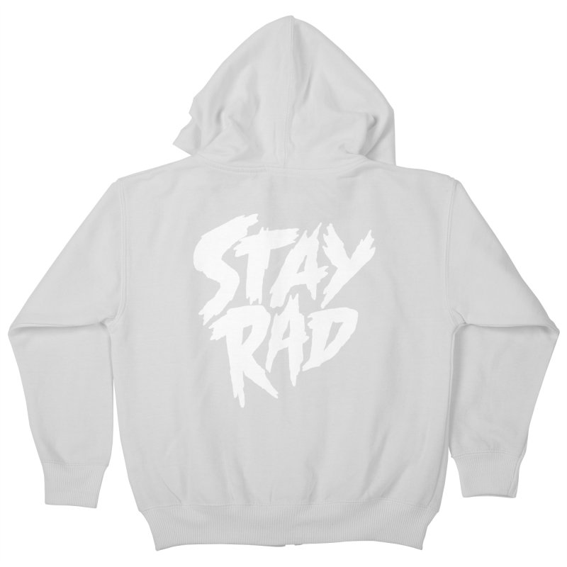 Stay Rad Kids Zip-Up Hoody by Iheartjlp