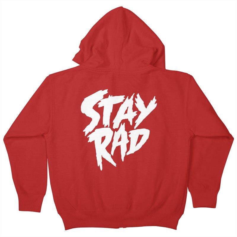 Stay Rad Kids Zip-Up Hoody by Iheartjlp