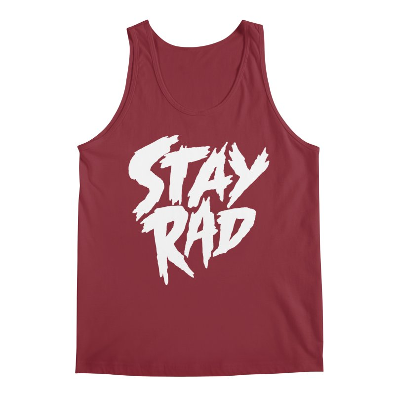 Stay Rad Men's Regular Tank by Iheartjlp
