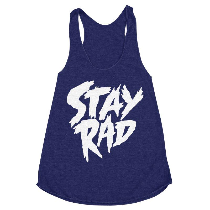 Stay Rad Women's Racerback Triblend Tank by Iheartjlp