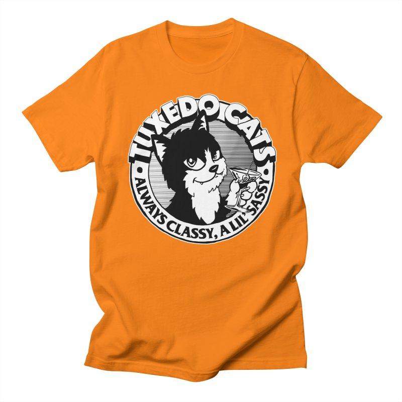 Tuxedo Cats Men's T-Shirt by Iheartjlp