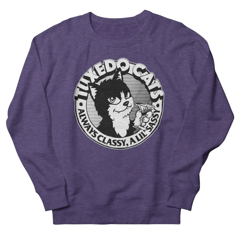 Tuxedo Cats Men's Sweatshirt by Iheartjlp