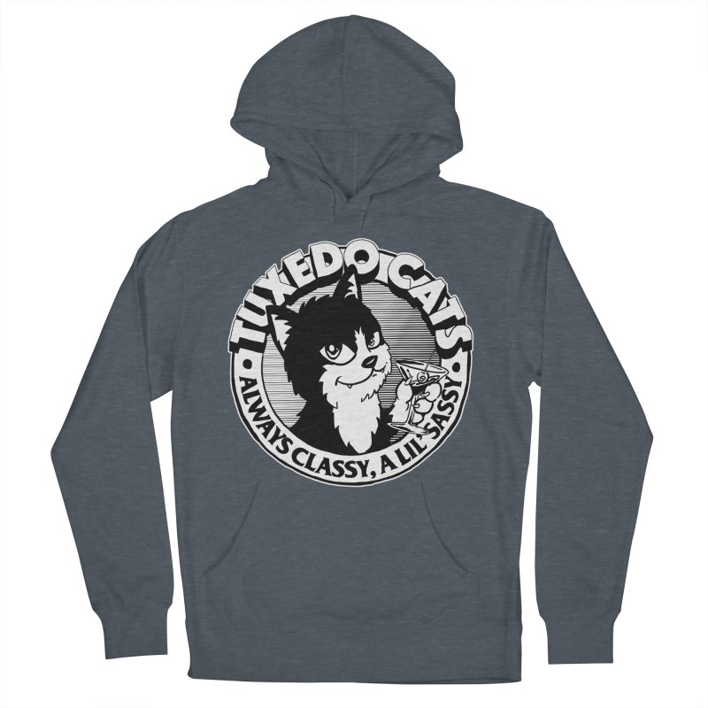 Tuxedo Cats Women's French Terry Pullover Hoody by Iheartjlp