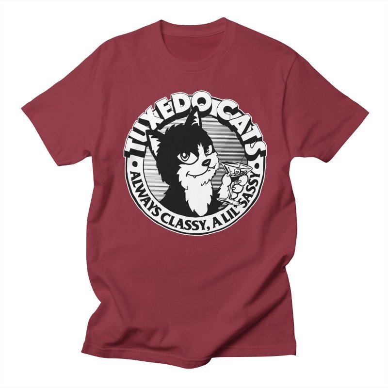 Tuxedo Cats Men's Regular T-Shirt by Iheartjlp