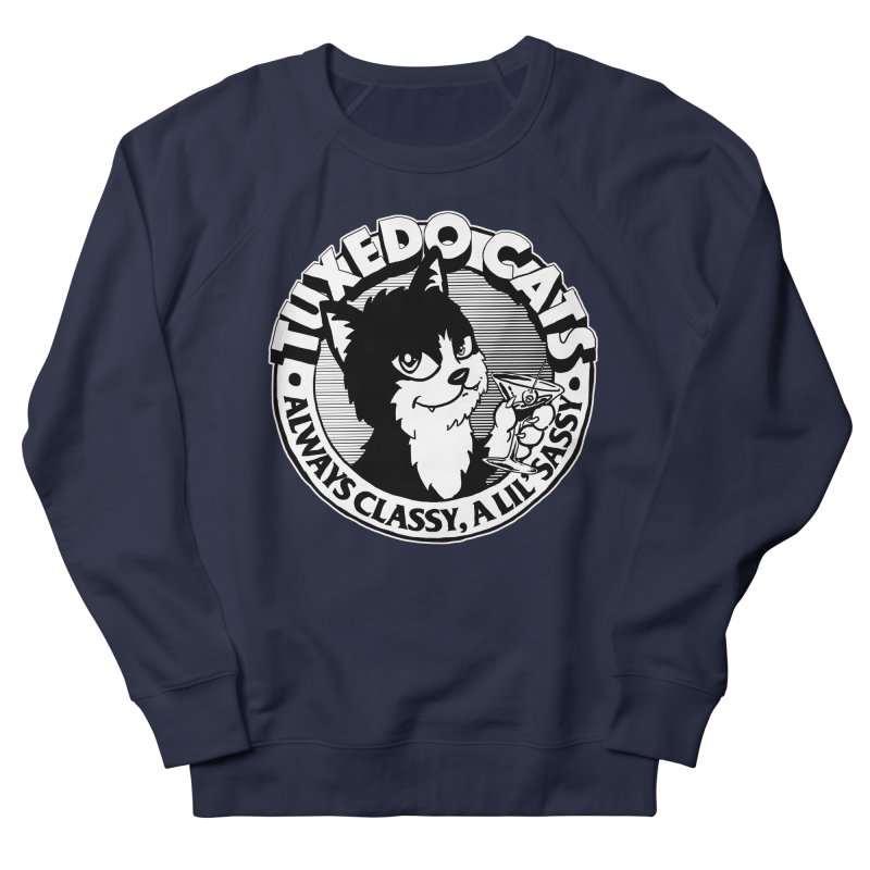 Tuxedo Cats Women's French Terry Sweatshirt by Iheartjlp