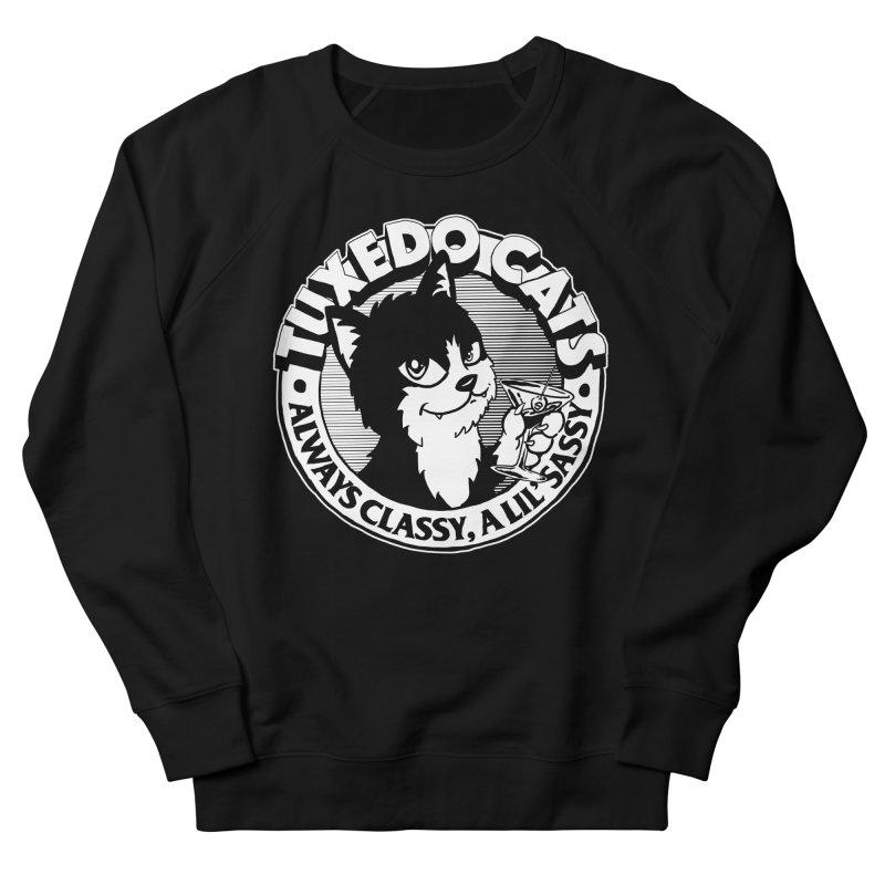 Tuxedo Cats Men's French Terry Sweatshirt by Iheartjlp
