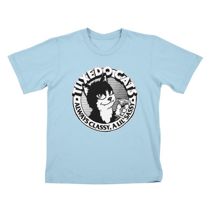 Tuxedo Cats Kids T-Shirt by Iheartjlp