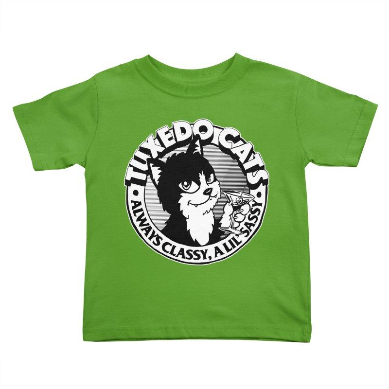 Tuxedo Cats Kids Toddler T-Shirt by Iheartjlp