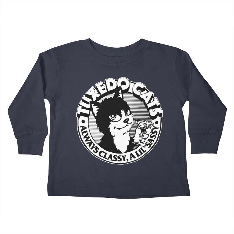 Tuxedo Cats Kids Toddler Longsleeve T-Shirt by Iheartjlp