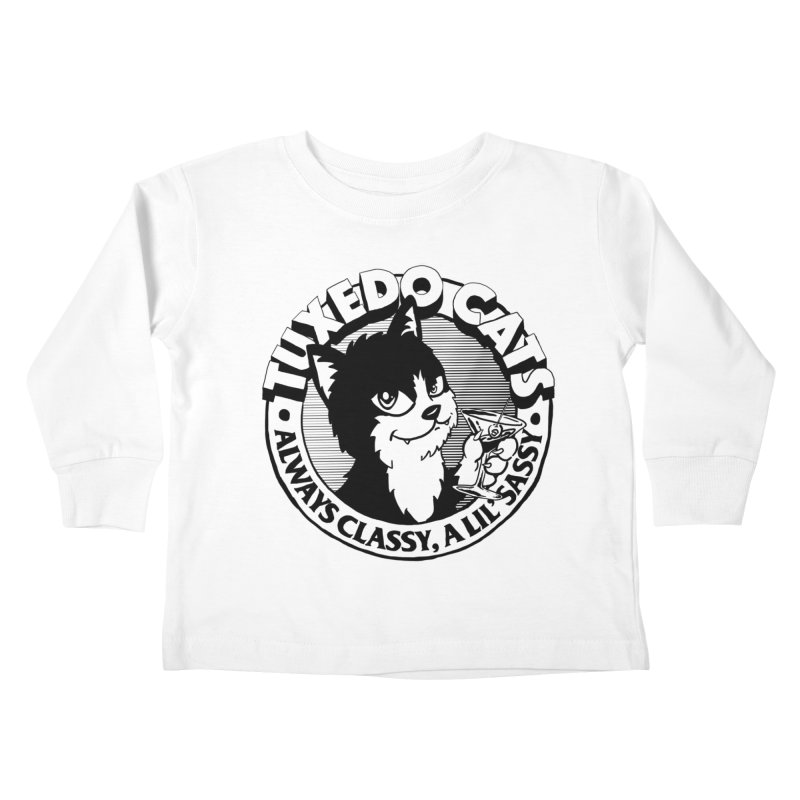 Tuxedo Cats Kids Toddler Longsleeve T-Shirt by Iheartjlp