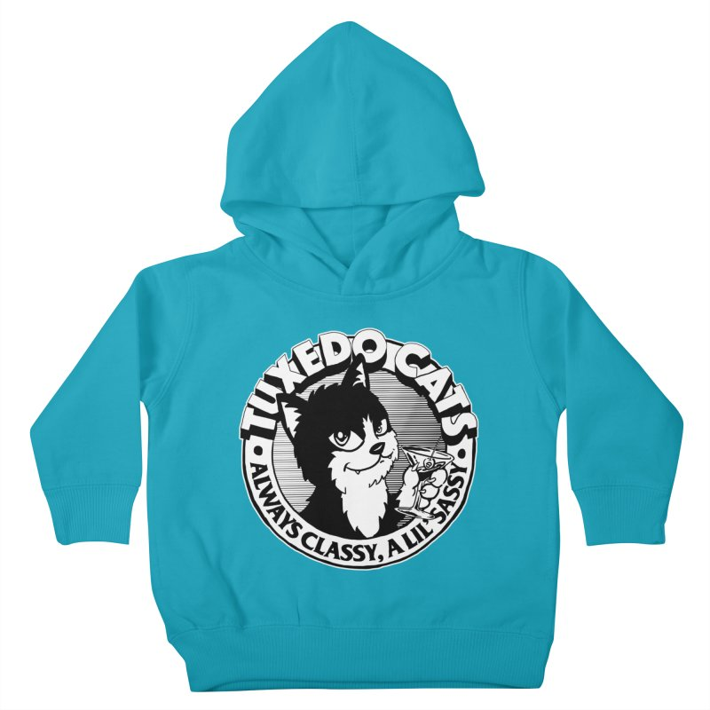 Tuxedo Cats Kids Toddler Pullover Hoody by Iheartjlp