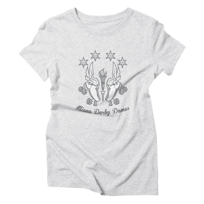 IDD logo Women's T-Shirt by Illiana Derby Dames's Team Merch Shop