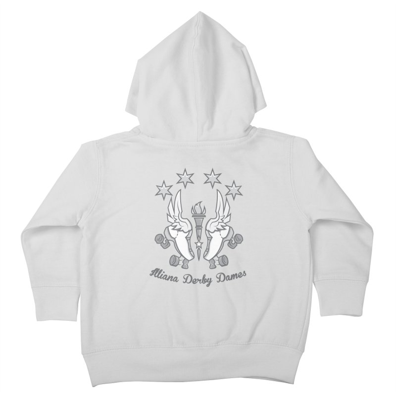 IDD logo Kids Toddler Zip-Up Hoody by Illiana Derby Dames's Team Merch Shop