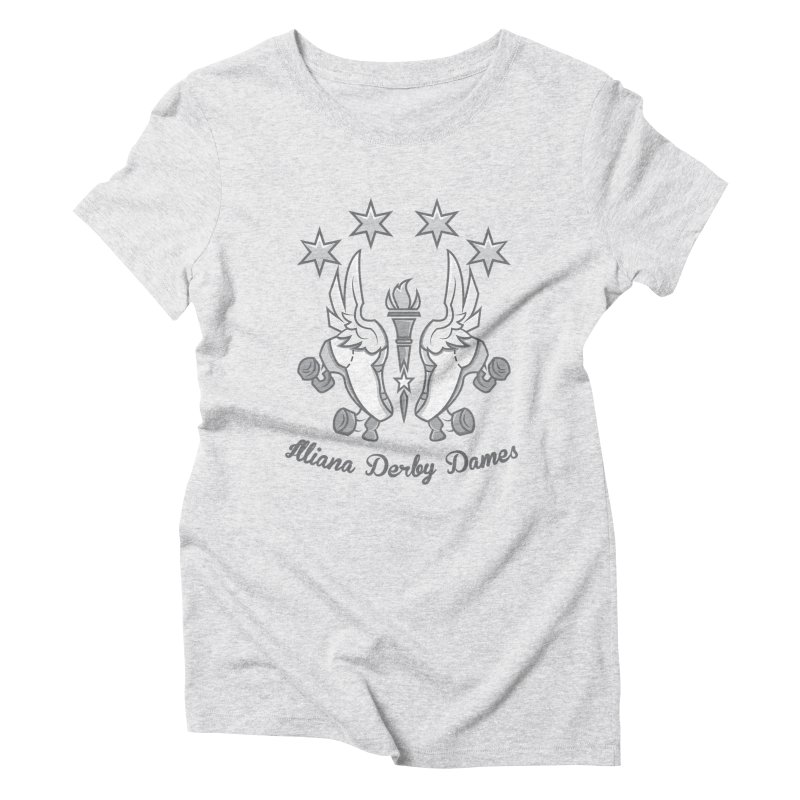 IDD logo Women's Triblend T-Shirt by Illiana Derby Dames's Team Merch Shop