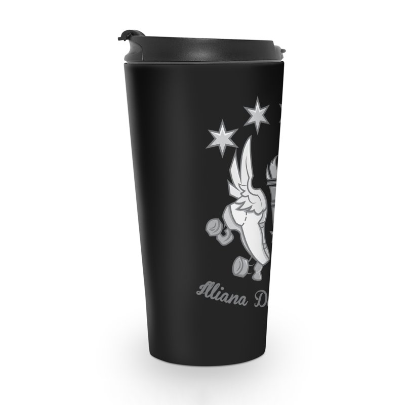 IDD logo Accessories Travel Mug by Illiana Derby Dames's Team Merch Shop