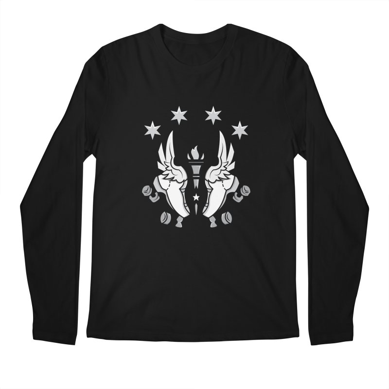 IDD logo with black letters Men's Longsleeve T-Shirt by Illiana Derby Dames's Team Merch Shop