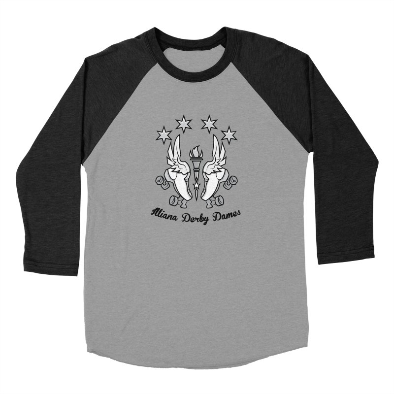 IDD logo with black letters Men's Longsleeve T-Shirt by Illiana Derby Dames's Team Merch Shop