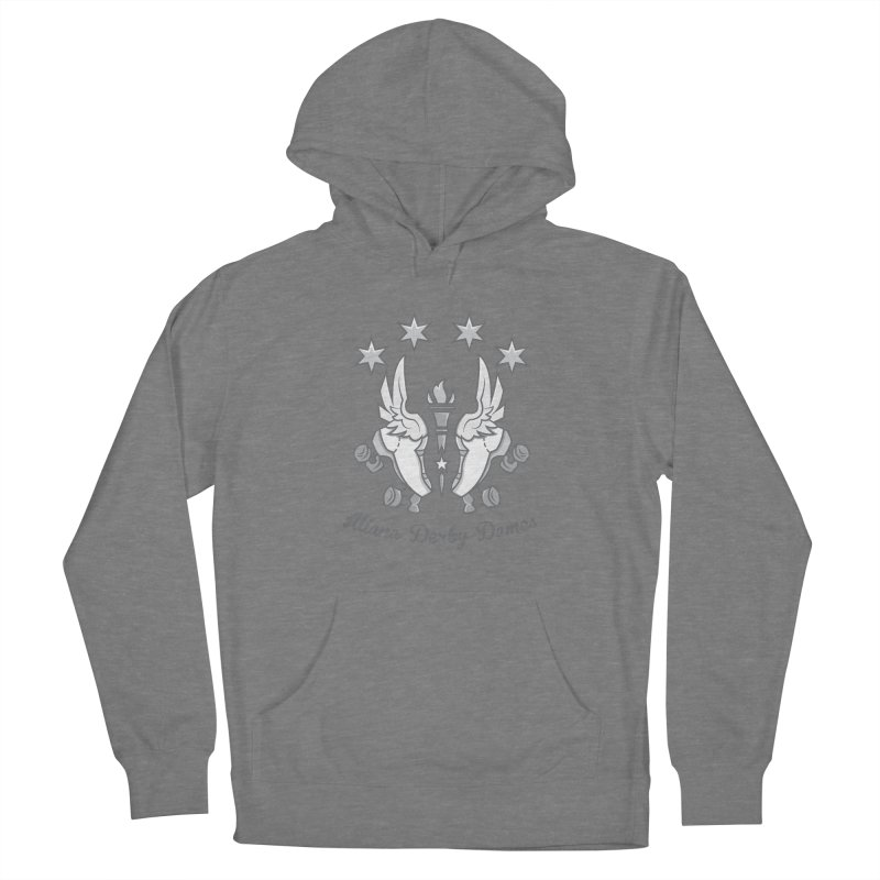 Logo with grey lettering Women's Pullover Hoody by Illiana Derby Dames's Team Merch Shop