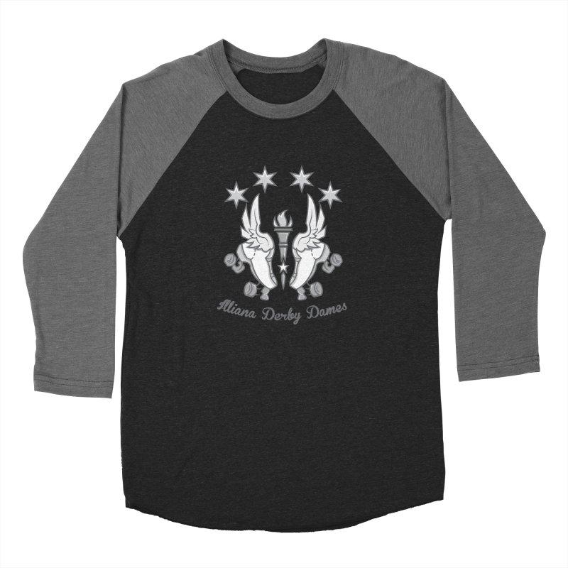 Logo with grey lettering Women's Longsleeve T-Shirt by Illiana Derby Dames's Team Merch Shop