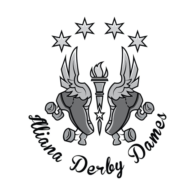 Dark logo by Illiana Derby Dames's Team Merch Shop