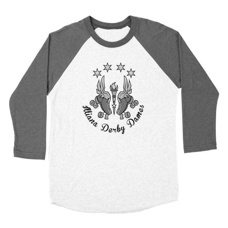 Dark logo Women's Longsleeve T-Shirt by Illiana Derby Dames's Team Merch Shop