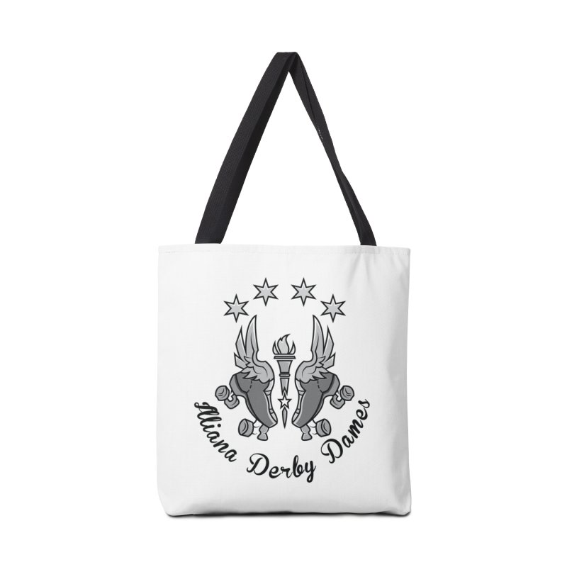 Dark logo Accessories Tote Bag Bag by Illiana Derby Dames's Team Merch Shop