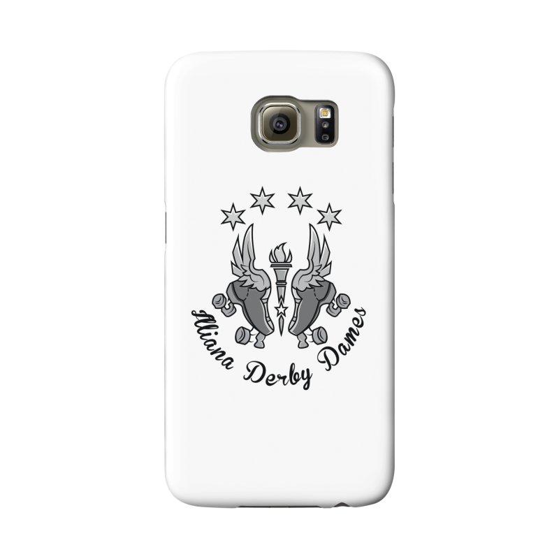 Dark logo Accessories Phone Case by Illiana Derby Dames's Team Merch Shop