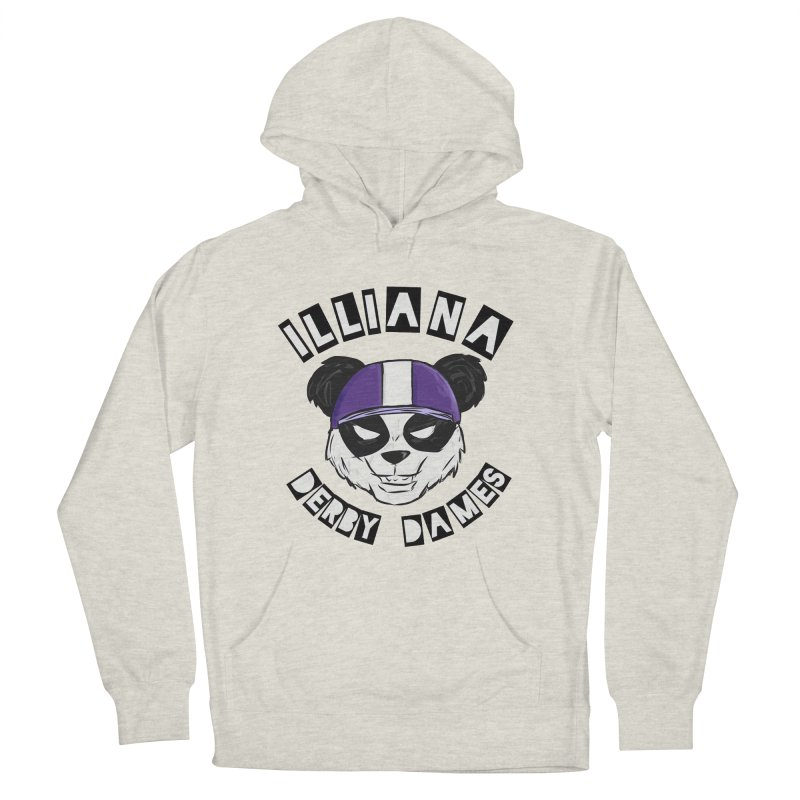Pandamonium Women's French Terry Pullover Hoody by Illiana Derby Dames's Team Merch Shop