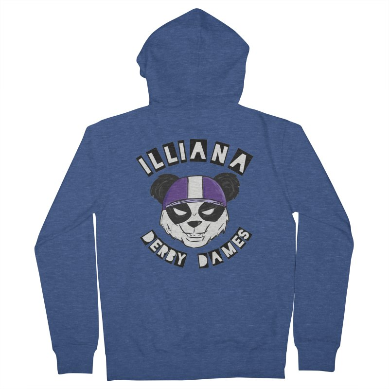 Pandamonium Women's French Terry Zip-Up Hoody by Illiana Derby Dames's Team Merch Shop