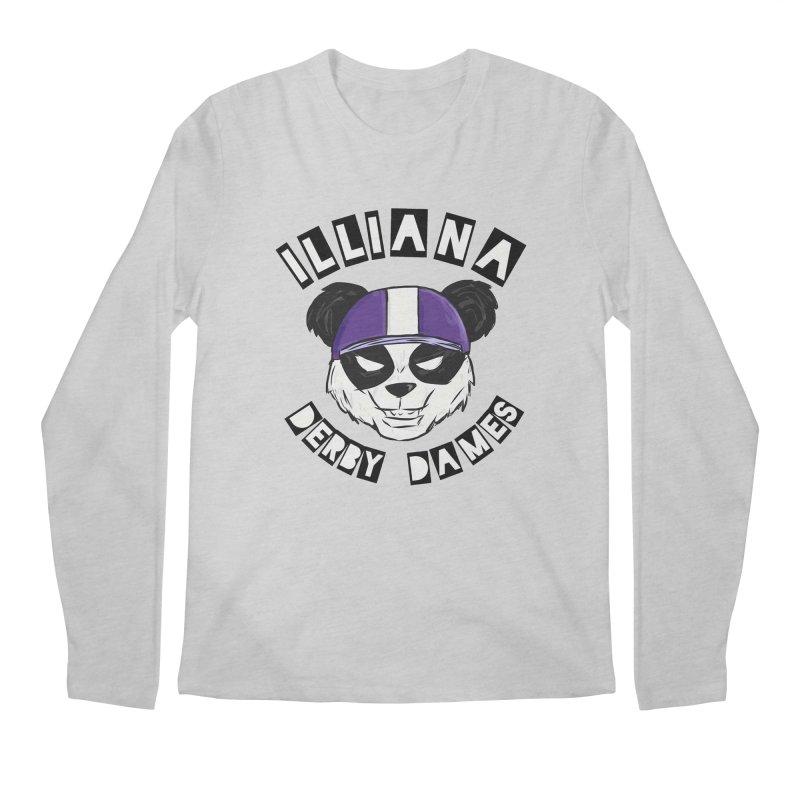 Pandamonium Men's Longsleeve T-Shirt by Illiana Derby Dames's Team Merch Shop