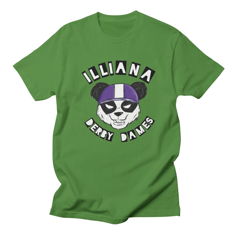 Pandamonium Women's Regular Unisex T-Shirt by Illiana Derby Dames's Team Merch Shop