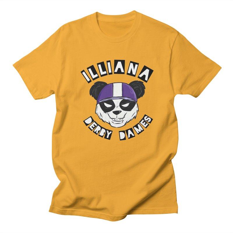 Pandamonium Women's Regular Unisex T-Shirt by Illiana Derby Dames's Team Merch Shop