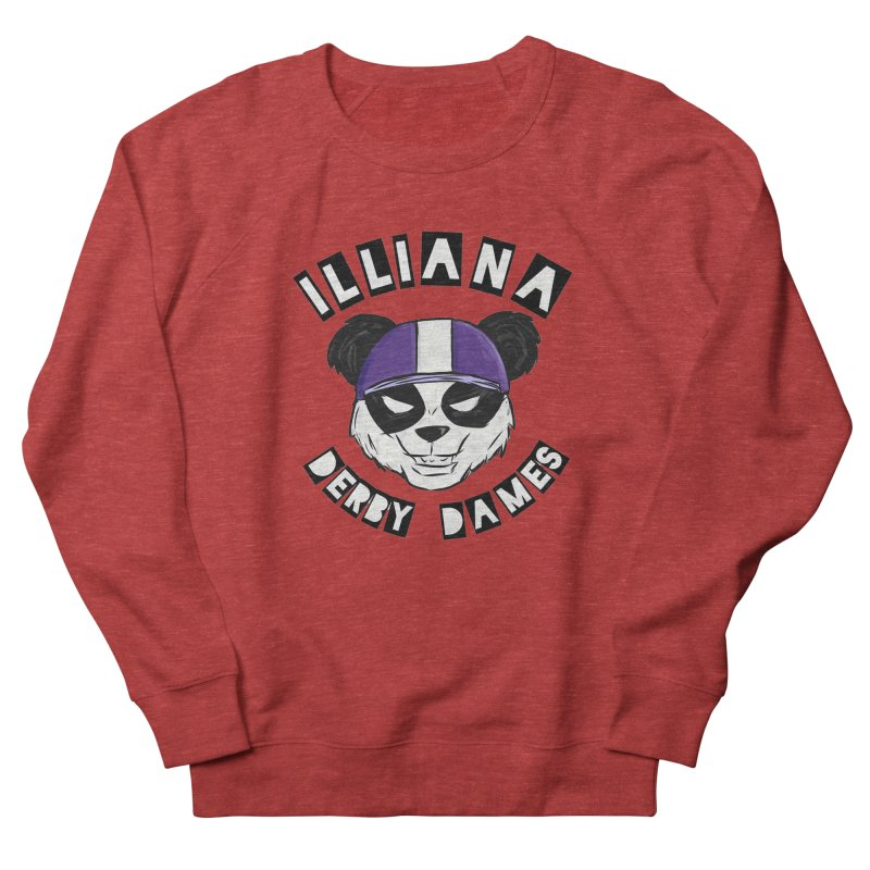 Pandamonium Women's French Terry Sweatshirt by Illiana Derby Dames's Team Merch Shop