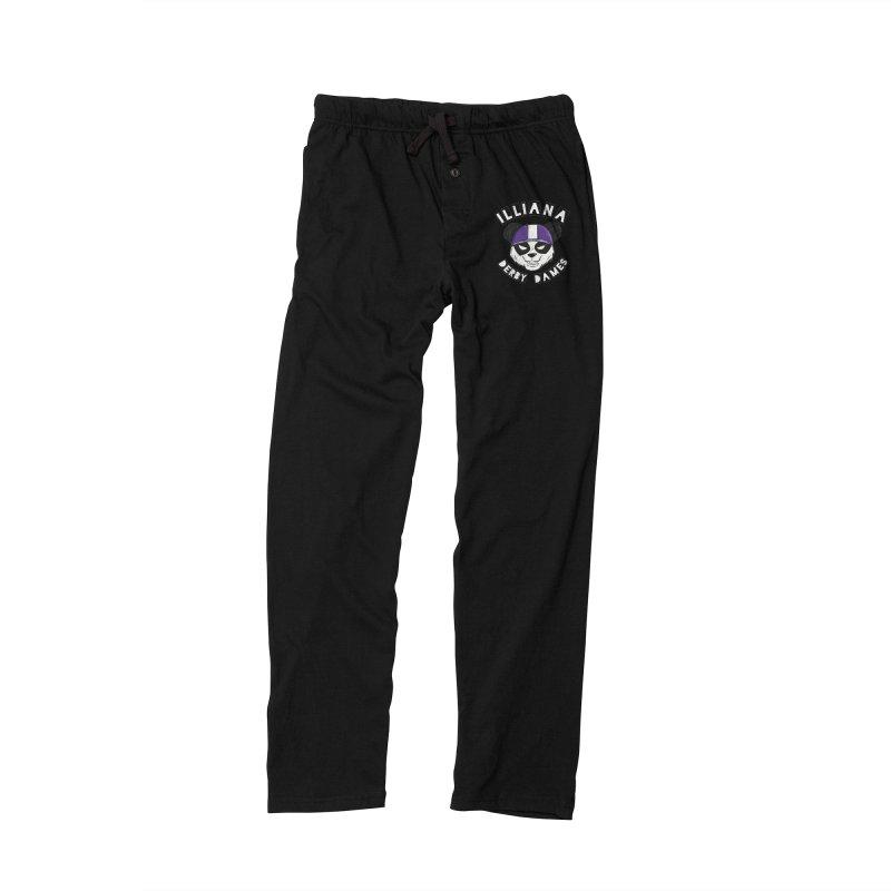 Pandamonium Men's Lounge Pants by Illiana Derby Dames's Team Merch Shop