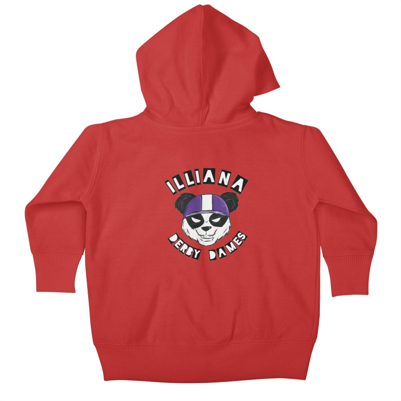 Pandamonium Kids Baby Zip-Up Hoody by Illiana Derby Dames's Team Merch Shop