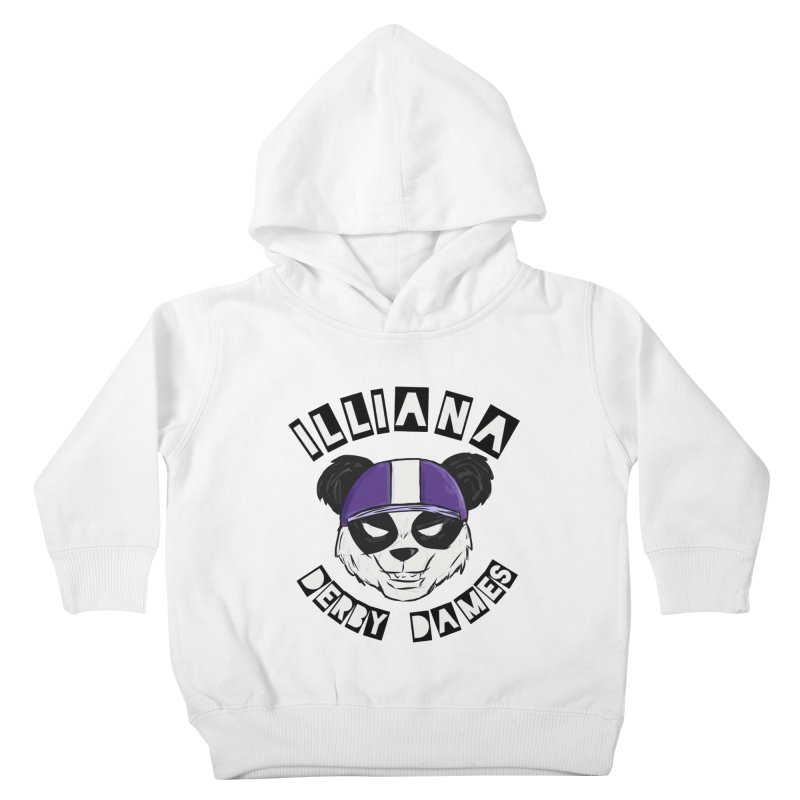 Pandamonium Kids Toddler Pullover Hoody by Illiana Derby Dames's Team Merch Shop