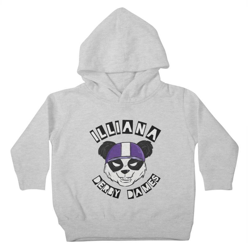 Pandamonium Kids Toddler Pullover Hoody by Illiana Derby Dames's Team Merch Shop