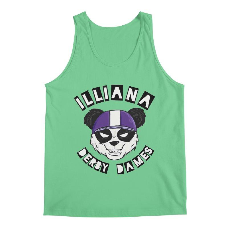 Pandamonium Men's Regular Tank by Illiana Derby Dames's Team Merch Shop