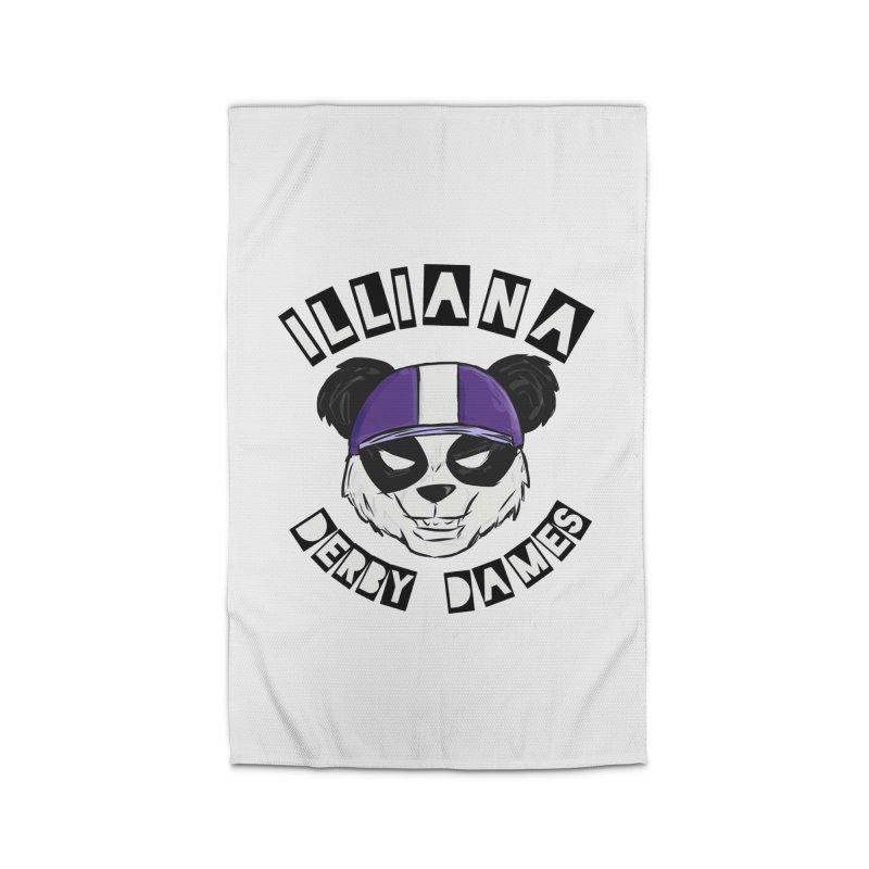 Pandamonium Home Rug by Illiana Derby Dames's Team Merch Shop
