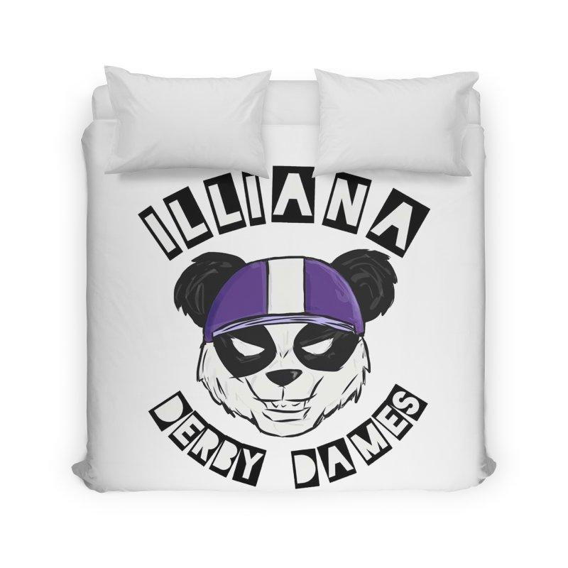 Pandamonium Home Duvet by Illiana Derby Dames's Team Merch Shop