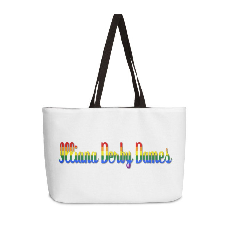 Rainbow IDD Accessories Bag by Illiana Derby Dames's Team Merch Shop