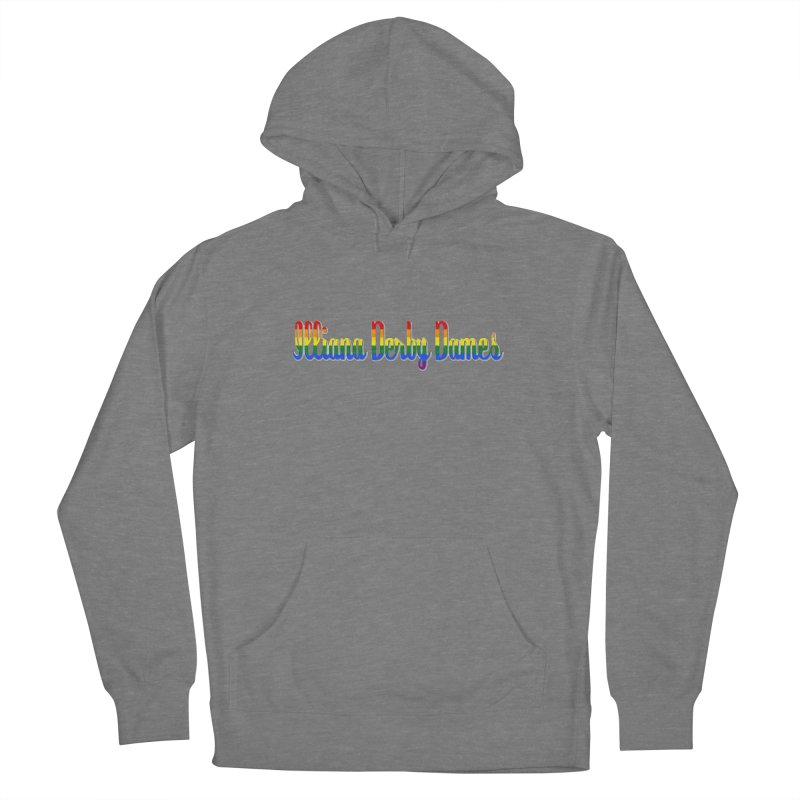 Rainbow IDD Women's Pullover Hoody by Illiana Derby Dames's Team Merch Shop