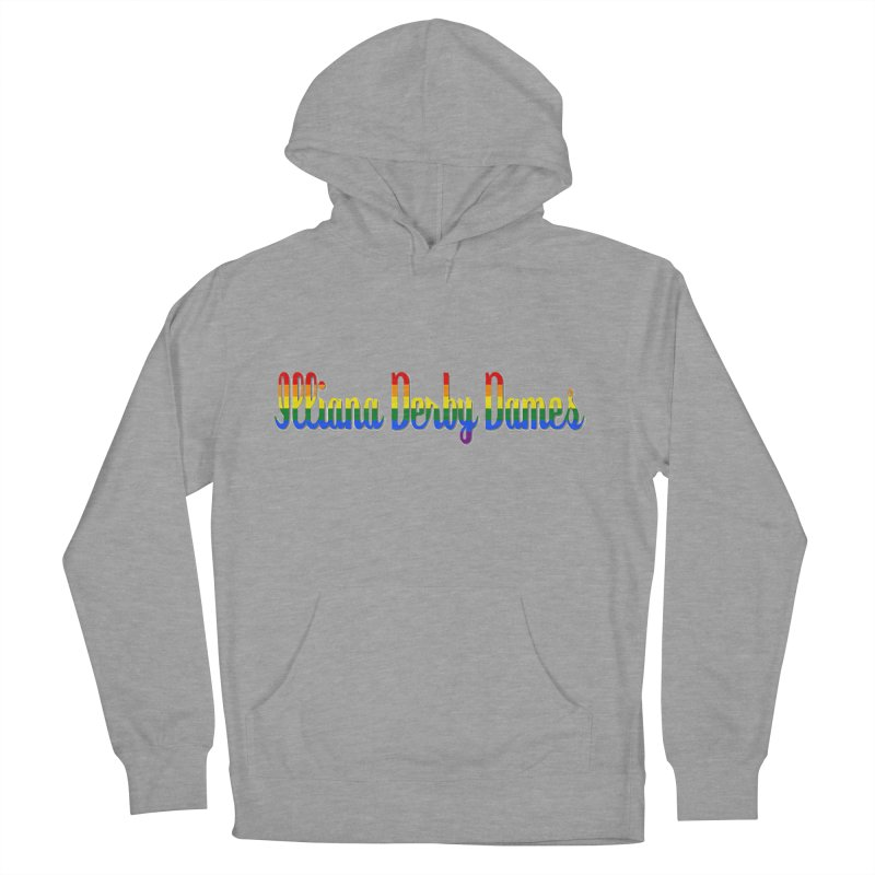 Rainbow IDD Women's French Terry Pullover Hoody by Illiana Derby Dames's Team Merch Shop
