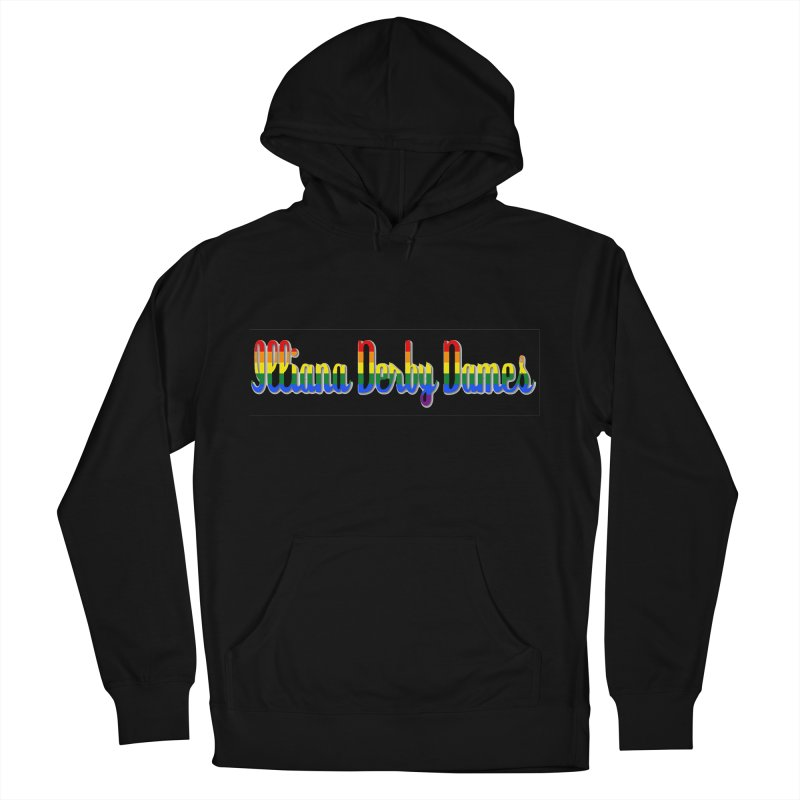 Rainbow IDD Men's French Terry Pullover Hoody by Illiana Derby Dames's Team Merch Shop