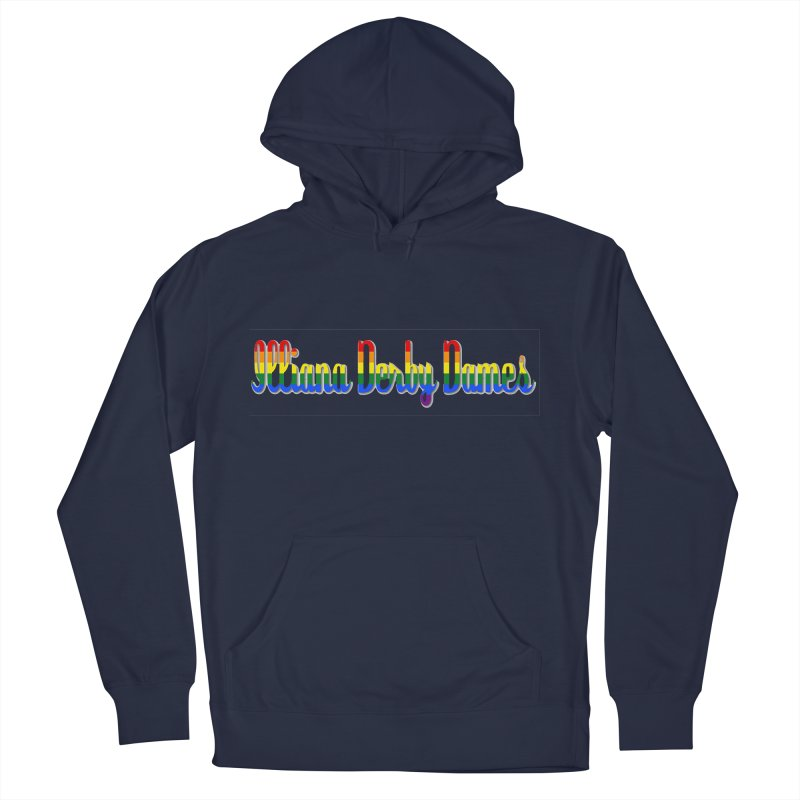 Rainbow IDD Men's Pullover Hoody by Illiana Derby Dames's Team Merch Shop