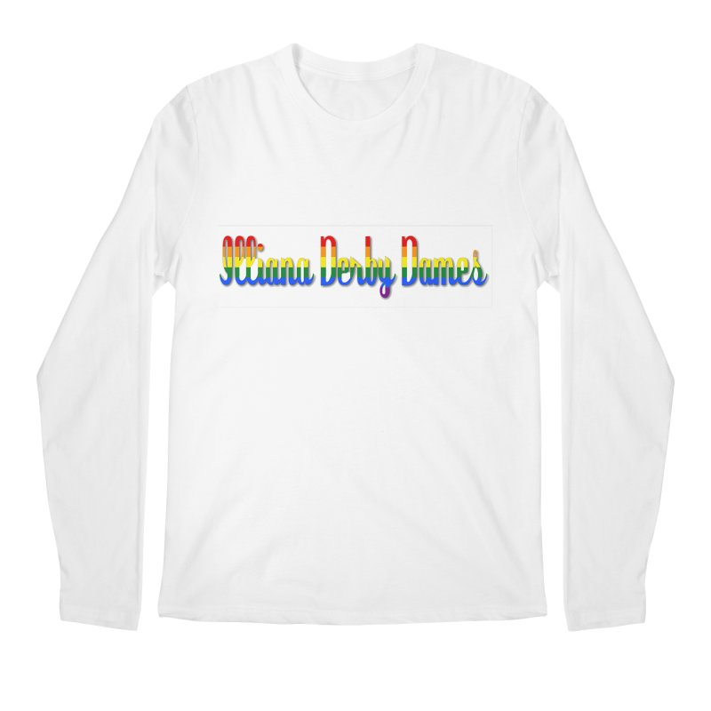 Rainbow IDD Men's Regular Longsleeve T-Shirt by Illiana Derby Dames's Team Merch Shop