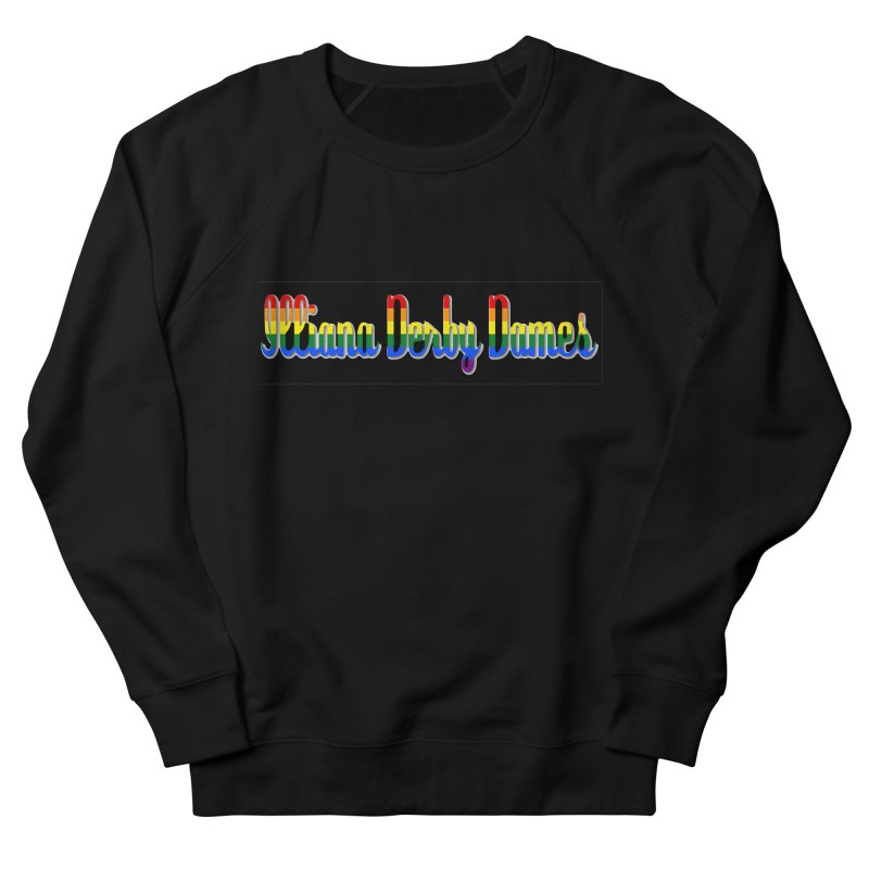 Rainbow IDD Men's French Terry Sweatshirt by Illiana Derby Dames's Team Merch Shop