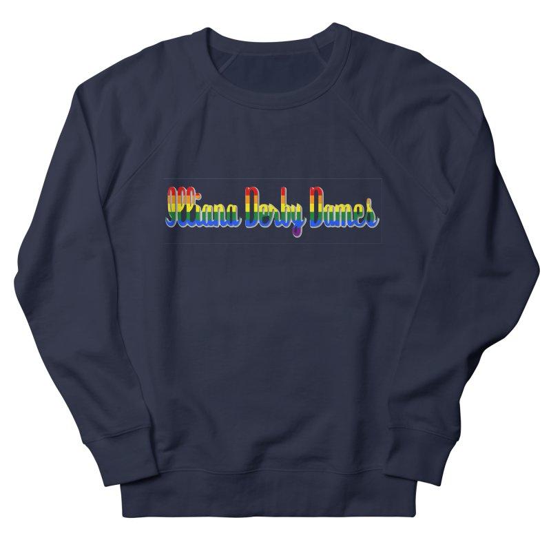 Rainbow IDD Men's French Terry Sweatshirt by Illiana Derby Dames's Team Merch Shop