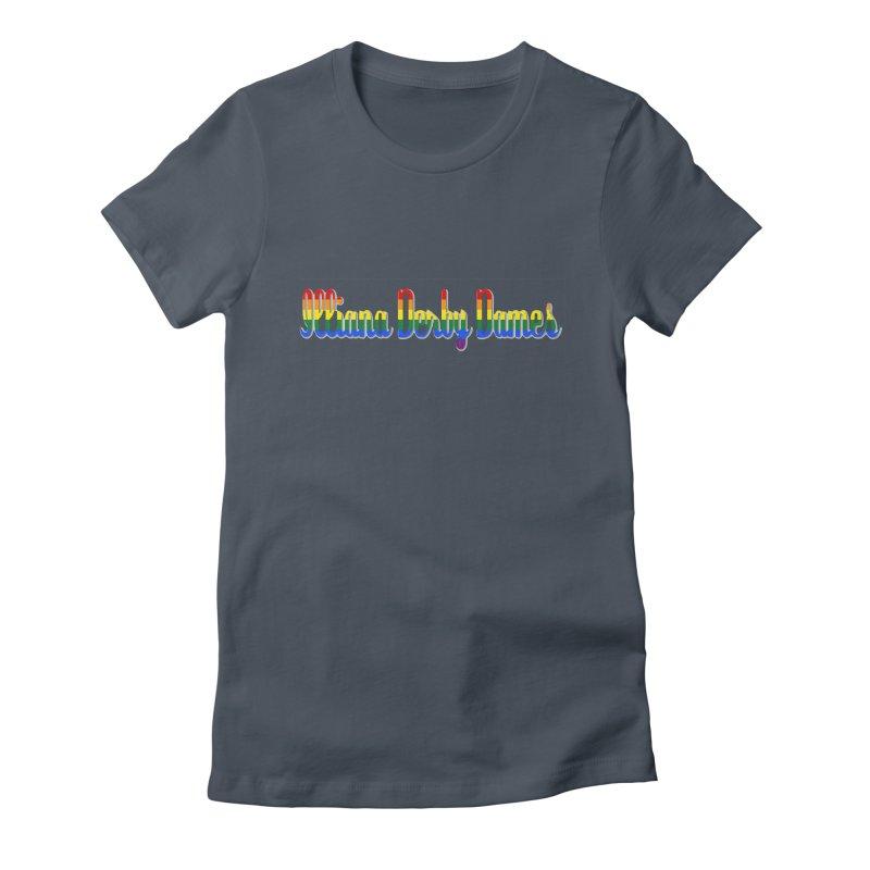 Rainbow IDD Women's T-Shirt by Illiana Derby Dames's Team Merch Shop